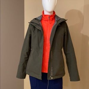 The North Face 3 in 1 HyVent jacket